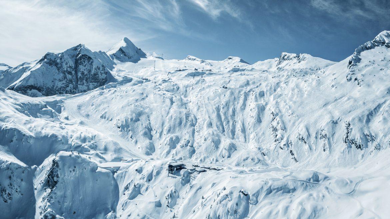A Kitzsteinhorn-gleccser síterepe, Gletscherskigebiet Kitzsteinhorn