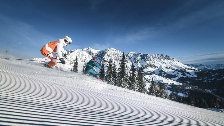 Síelés Hochkönigben - Skifahren in Hochkönig