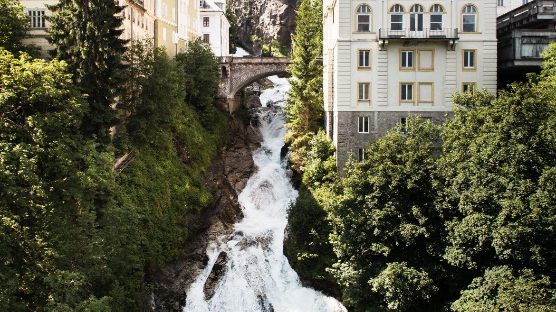 Bad Gastein vízesése, Wasserfall Bad Gastein