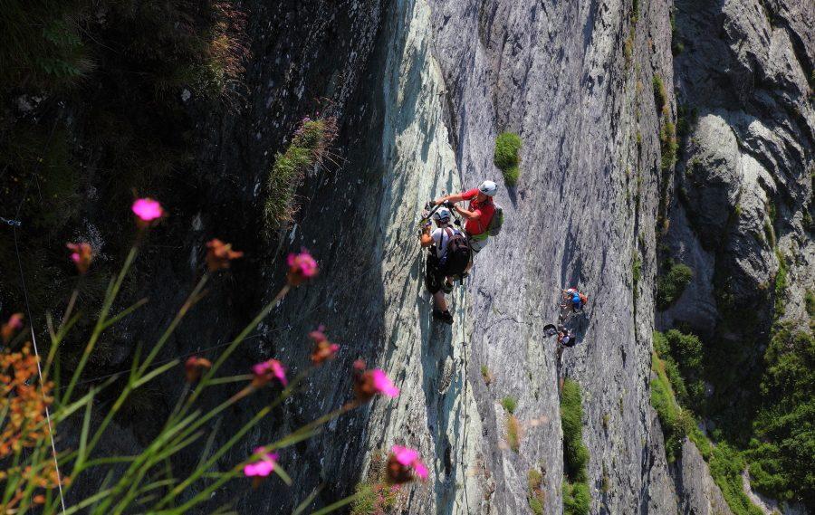 Klettersteig Hüttschlagerwand
