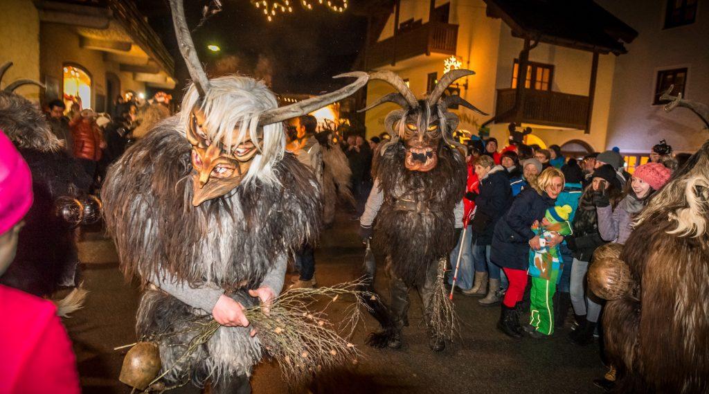 feste tradizionali-Krampus mostro natale usanza salisburghese