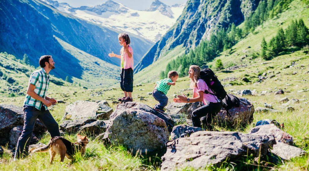 vacanze con bambini trekking alti tauri