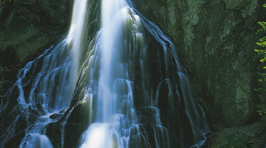 La cascata di Golling