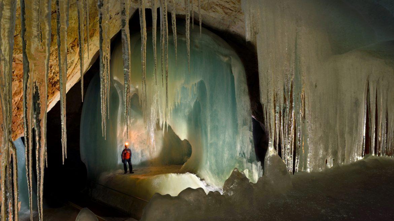 Grotta di Ghiaccio particolare interno