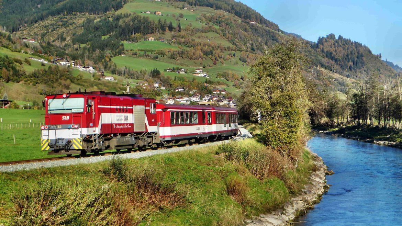 SalzburgerLand goed bereikbaar met de trein