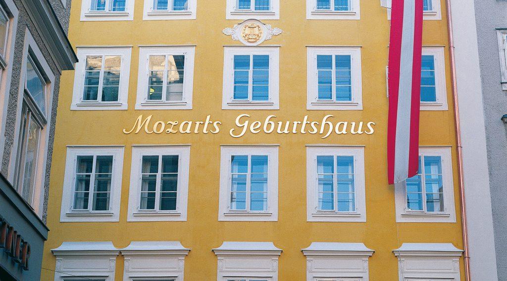 Het huis waar Mozart is geboren