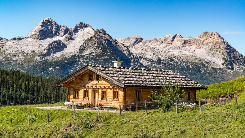 In sommige hutten heb je dankzij de zelfverzorgdheid de ultieme vrijheid