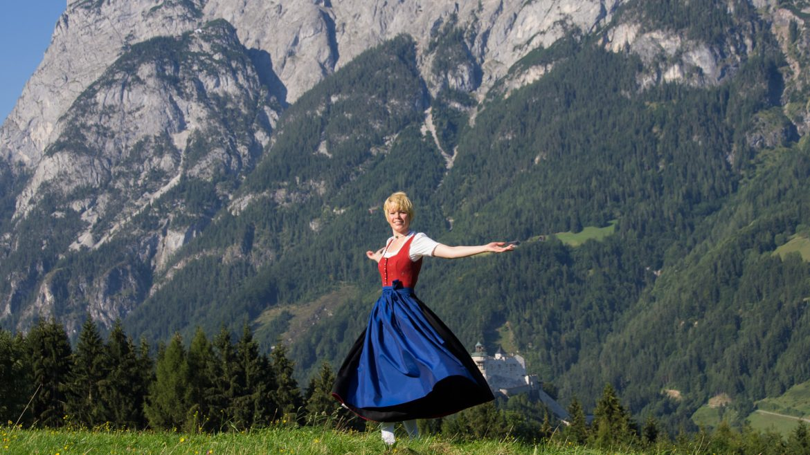 The Sound of Music wandeling in Werfen