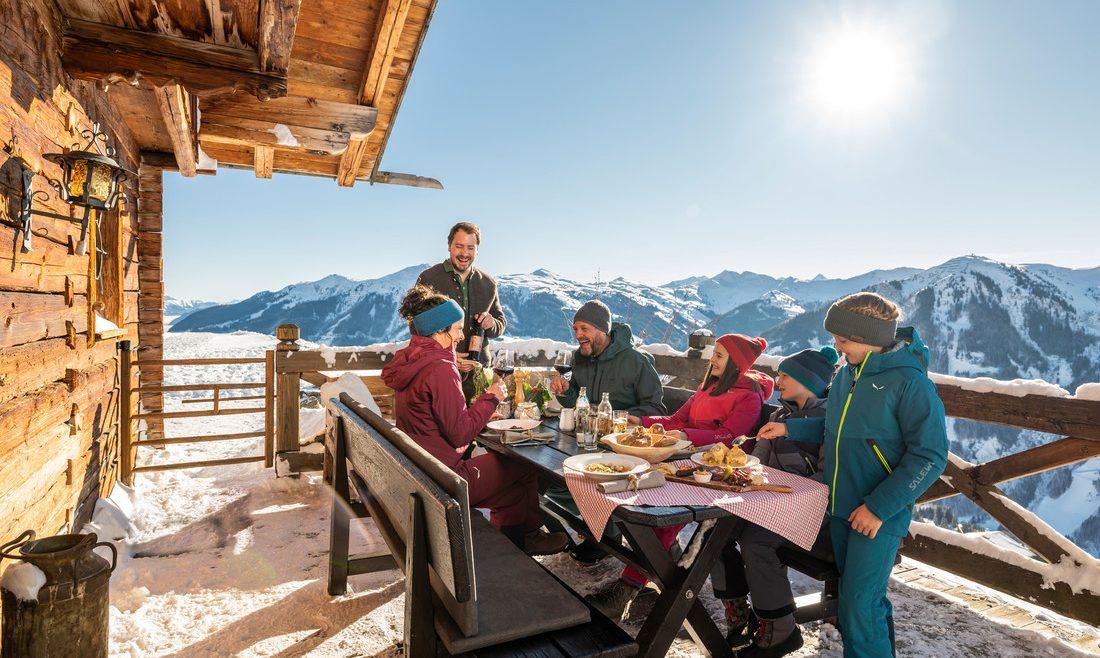 Kulinarik auf der Skihütte