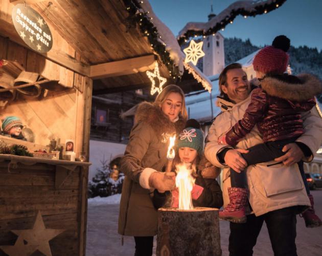 Kerstmarkt in diverse plaatsen in SalzburgerLand