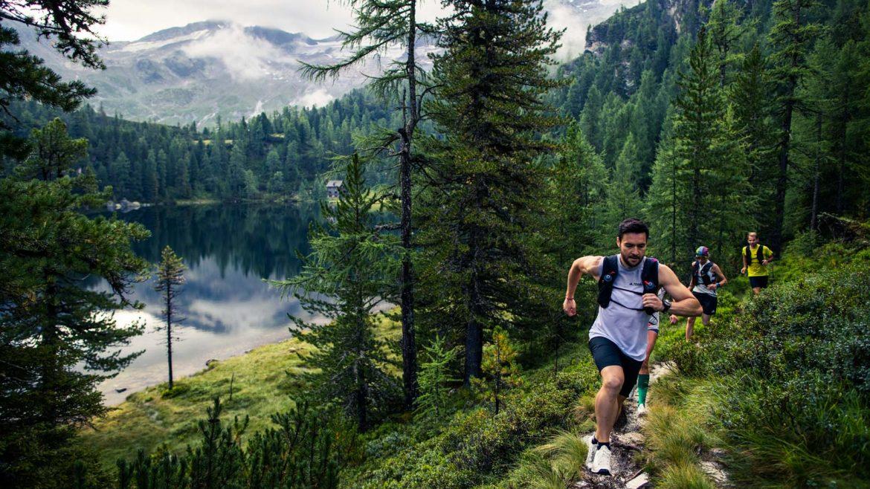 Trail running, bossen, Michael Müller
