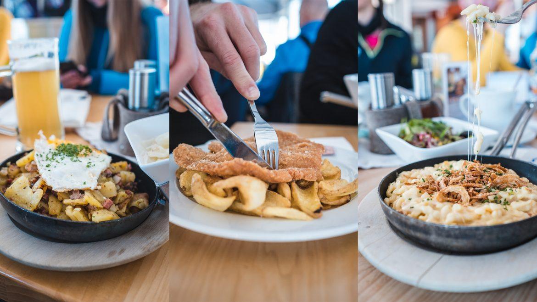 culinary delights at Restaurant Gletschermühle
