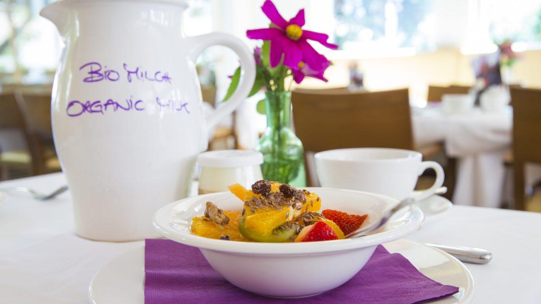 Ekologiczne śniadanie w hotelu Auersperg